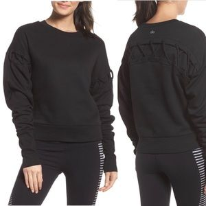 NWT Alo Yoga Hook-Up Long  Sleeve Sweatshirt